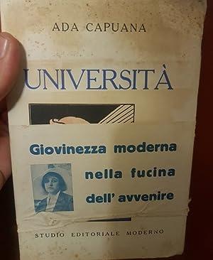 UNIVERSITA',: CAPUANA ADA