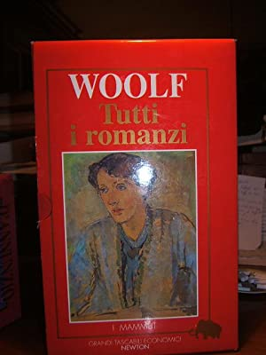 TUTTI I ROMANZI, 1 VOL. LA CROCIERA,: WOOLF VIRGINIA