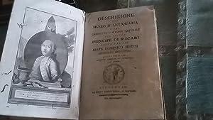 DESCRIZIONE DEL MUSEO D'ANTIQUARIA E DEL GABINETTO: PATERNO' CASTELLO DI