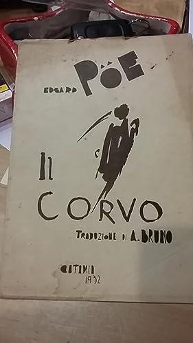 IL CORVO., TRADUZ. DI ANTONIO BRUNO. A: POE EDGAR ALLAN