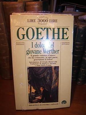 I DOLORI DEL GIOVANE WERTHER.,: GOETHE WOLFGANG J.