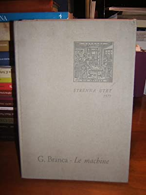 LE MACHINE., INTRODUZ. DI LUIGI FIRPO