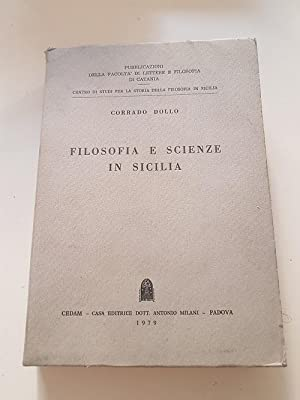 FILOSOFIA E SCIENZE IN SICILIA,