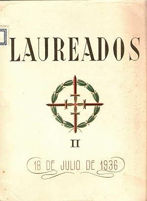 LAUREADOS . II. 19 DE JULIO DE 1936: OBREGÓN, Antonio de y CUNQUEIRO, Álvaro