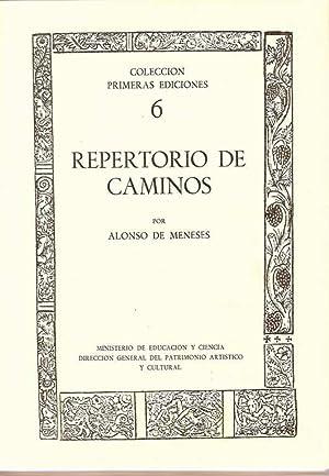 REPERTORIO DE CAMINOS: MENESES, Alonso de