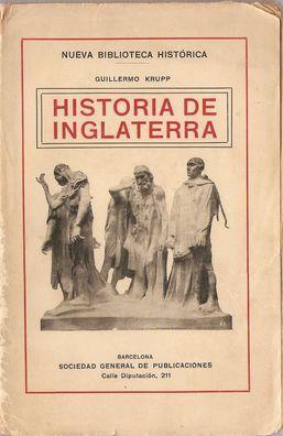 HISTORIA DE INGLATERRA: KRUPP, Guillermo
