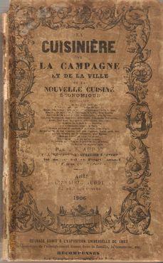 LA CUISINIÈRE DE LA CAMPAGNE ET DE: ANDOT, E. (lib.)