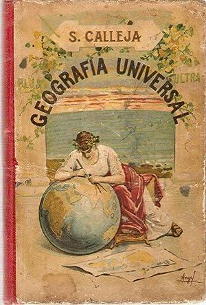 ATLAS DE GEOGRAFÍA UNIVERSAL: CALLEJA FERNÁNDEZ, Saturnino