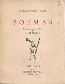 POEMAS: BUTLER YEATS, William