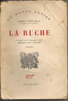 LA RUCHE (La Colmena): CELA, Camilo José