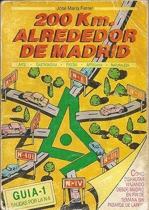 200 Km ALREDEDOR DE MADRID. GUÍA-1 SALIDAS POR N-II: FERRER, José María