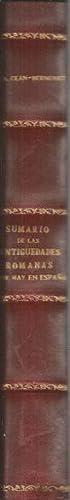SUMARIO DE LAS ANTIGÜEDADES ROMANAS QUE HAY EN ESPAÑA: CEAN-BERMÚDEZ, Juan Agustín