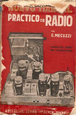 NUEVO MANUAL PRÁCTICO DE RADIO: MECOZZI, G