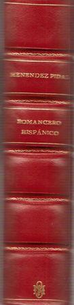 ROMANCERO HISPÁNICO (HISPANO-PORTUGUÉS, AMERICANO Y SEFARDÍ). TEORÍA E ...