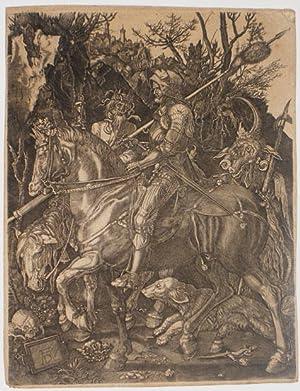 El caballero, la muerte y el diablo: Grabador: Dürer, Albrecht,