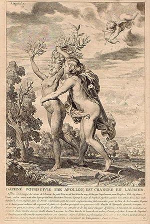 Estampas de las Metamorfosis de Ovidio: Grabador: Bloemaert, Cornelis,