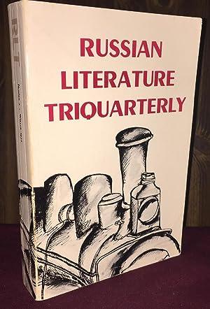 Russian Literature Triquarterly Number 2: Carl R. Proffer