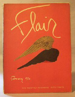 Flair. The Monthly Magazine. February 1950: Cowles, Fleur. (Editor)