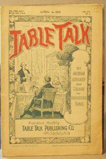 Table Talk (Magazine), April 1901