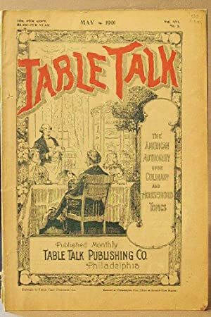 Table Talk (Magazine), May 1901