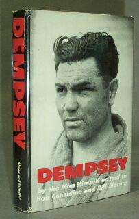 """Dempsey, By the Man Himself [along with one SIGNED Dempsey Photograph and the SCARCE 1936 """"How ..."""