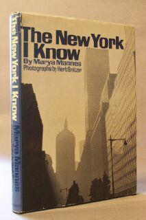 New York I Know: Mannes, Marya