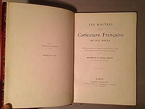 Les Maîtres de la Caricature Française au XIXe Siècle: DAYOT, Armand M.