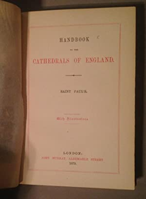 Handbook to the Cathedrals of England. Saint Paul's