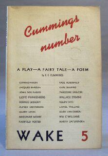 Harvard Wake: Lawrence, Seymour (editor)