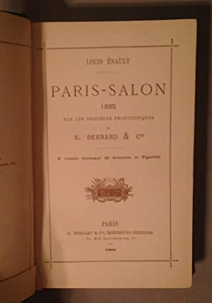 Paris - Salon 1885. Par Les Procedes Phototypiques: Enault, Louis