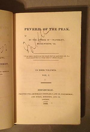 Peveril of the Peak: Scott, Sir Walter]