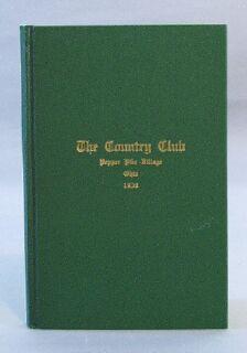 Country Club, Pepper Pike Village, Ohio, 1930: Merrill, Charles B.