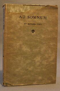 Ad Somnum and Other Poems: Viets, Edward