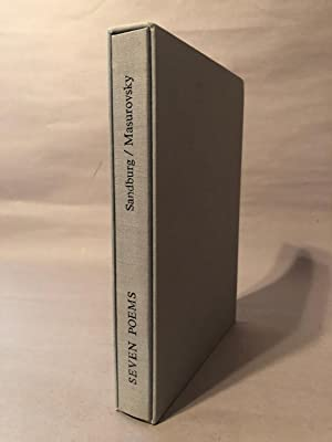 Seven Poems [1 of 20 Extra-Illustrated copies]: Sandburg, Carl