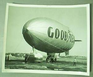 Goodyear Airship Mayflower II [Original Photograph]: Goodyear News Service