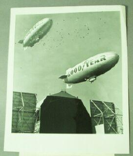 Goodyear Airships [original photograph]: Goodyear News Bureau