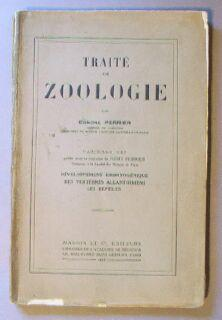 Traité de Zoologie. Fascicule VIII: Développement embryogénique des vert&...