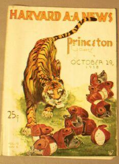 Harvard A A News / Princeton Game / October 29, 1938 / Vol. 13, No. 6: Harvard ...