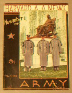 Harvard A A News / November 11, 1939 / Vol. 14, No. 5 / Army Game: Harvard Athletic ...