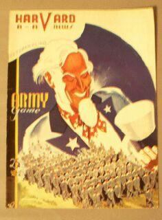 Harvard A A News / October 24, 1942 / Army Game / Vol. 17, No. 6: Harvard Athletic ...
