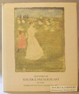 Monotypes by Maurice Prendergast in the Terra Museum of American Art: Langdale, Cecily