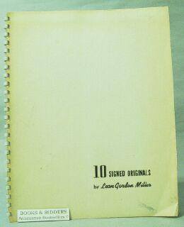 10 Intaglio Prints: Miller, Leon Gordon (1917-1985)