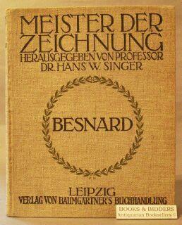 Zeichnungen Von Albert Besnard: Singer, Hans W.; [Albert Besnard]