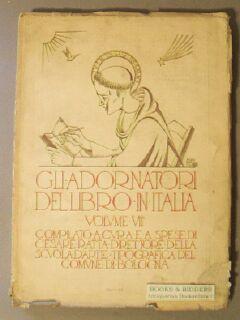 Gli Adornatori Del Libro in Italia. Volume VII, 1927: Ratta, Cesare