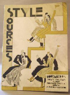 Style Sources: The Selective Style Authority. November 18, 1929: Magazine