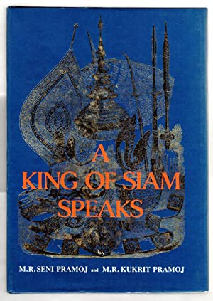 A KING OF SIAM SPEAKS