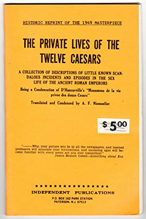 THE PRIVATE LIVES OF THE TWELVE CAESARS