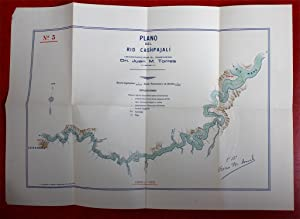 Two river maps of the upper Amazon region in Peru: Plano del Rio Cashpajali (and:) Plano del Rio ...