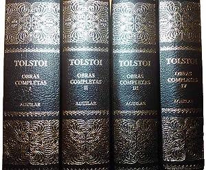 Obras completas [4 vols.].: TOLSTOI, León Nikolaievich.-