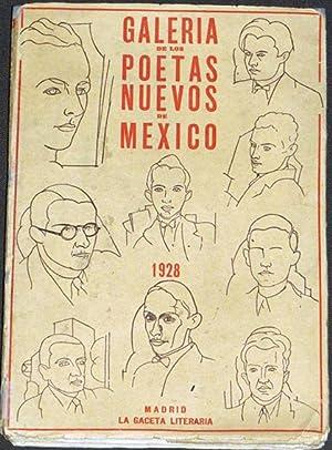 Galería de los poetas nuevos de México: GARCIA MAROTO, Gabriel.-